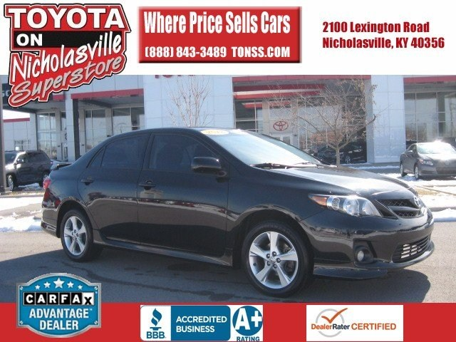 for sale used 2012 Toyota Corolla Nicholasville KY