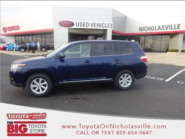 Toyota Dealership Lexington Ky >> 2013 Toyota Highlander
