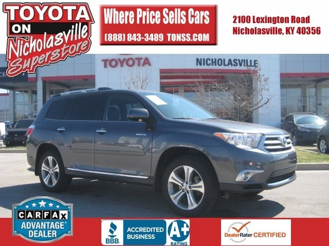 for sale used 2011 Toyota Highlander Nicholasville KY