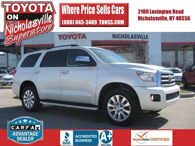 for sale used 2013 Toyota Sequoia Nicholasville KY