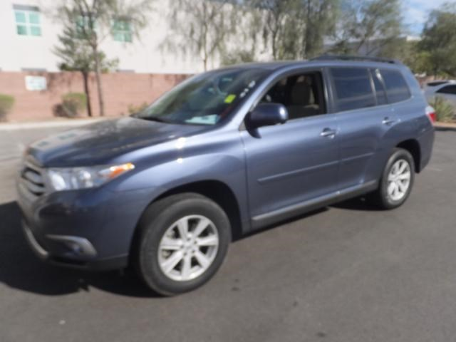 Certified Pre-Owned 2013 Toyota Highlander BSE FWD Sport Utility