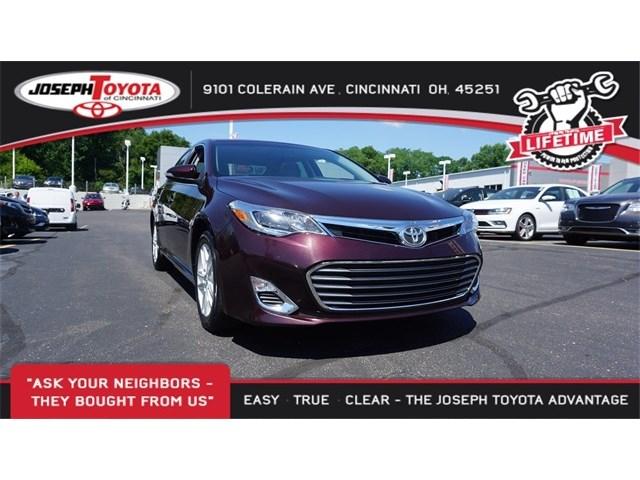 Certified Pre Owned 2016 Toyota Avalon Prm 4d Sedan In Cincinnati