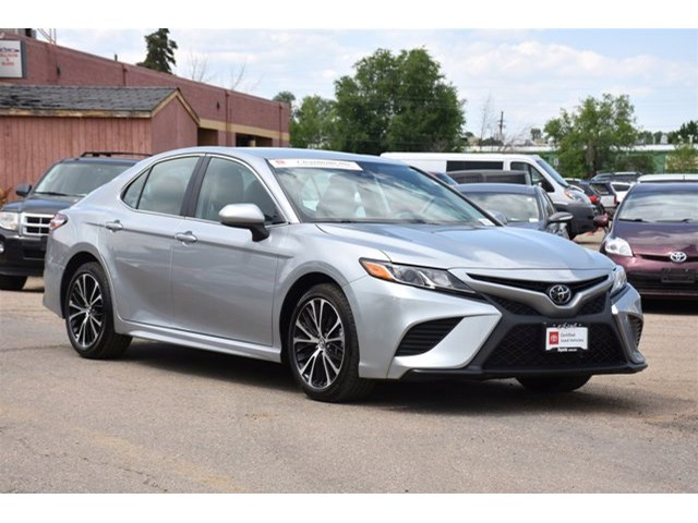Used Toyota Camry Boulder Co